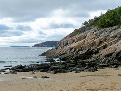 Photograph - Sand Beach by Gene Cyr