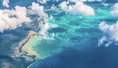 Bahamas Wall Art - Photograph - Sand Beach Meets Ocean by David D