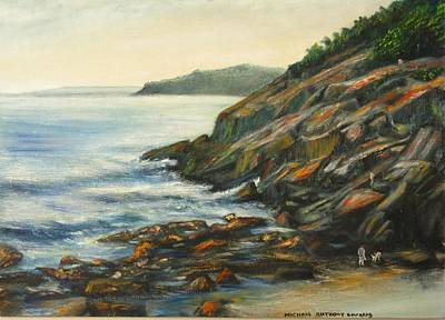 Painting - Sand Beach by Michael Anthony Edwards