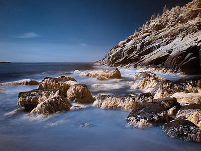 Print featuring the photograph Sand Beach by Steve Zimic