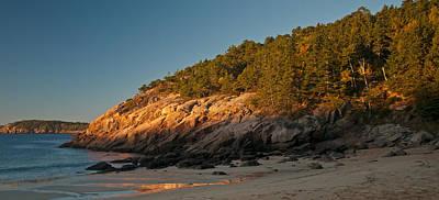 Photograph - Sand Beach Sunrise by Paul Mangold