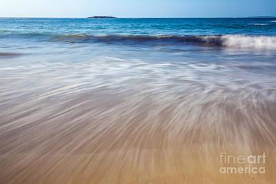 Photograph - Sand Beach Sweep by Susan Cole Kelly