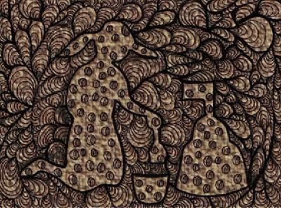 Sand Castles Art Print by Victoria Fischer