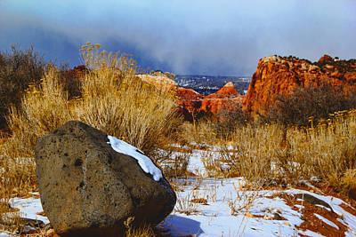 Photograph - Sand Creek by Mark Smith