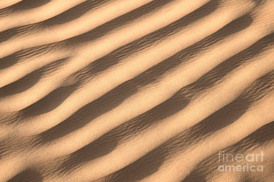 Sahara Photograph - Sand by Delphimages Photo Creations