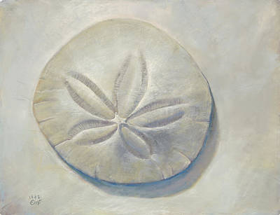 Painting - Sand Dollar by Nick Payne