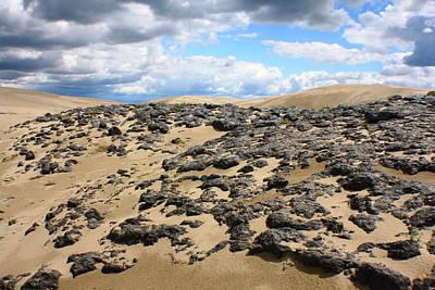 Photograph - Sand Dune Rocks by Jon Emery