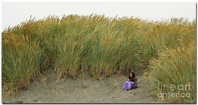 Photograph - Sand Dune Sit Down by Chris Anderson