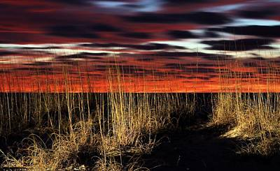 Navarre Beach Photograph - Sand Dune Sunrise by JC Findley