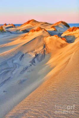 Sand Dune Sunset - Outer Banks Print by Dan Carmichael