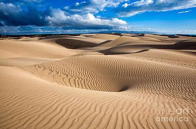 Sand Dune Vortex Art Print
