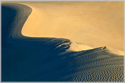 Photograph - Sand Dunes Abstract 2 by Jonathan Nguyen