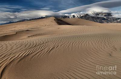 Photograph - Sand Dunes And Ufos by Adam Jewell