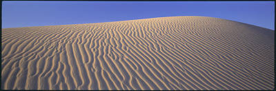 Sand Dunes Death Valley National Park Art Print by Panoramic Images
