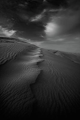 Photograph - Sand Dunes In Black And White by Sisifo73photography By Marco Romani