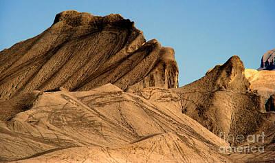Sand Dunes In Capital Reef Print by Eva Kato