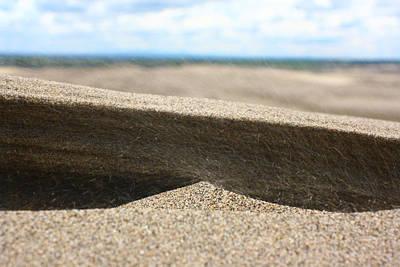 Photograph - Sand Dunes Macro 2 by Jon Emery