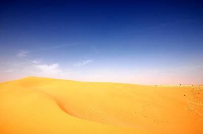 Sand Dunes Art Print by Manu G
