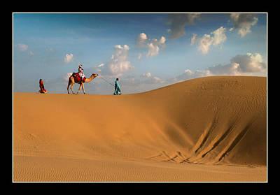 Sand Dunes Original by Mukesh Srivastava