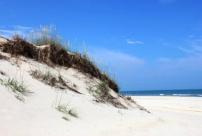 North Carolina Mixed Media - Sand Dunes Of Corolla Outer Banks Obx by Design Turnpike