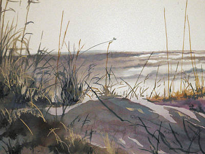 Sand Dunes Painting - Sand Dunes by Spencer Meagher