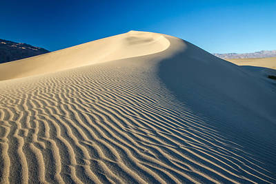 Photograph - Sand Dunes Wind Erosion by Pierre Leclerc Photography
