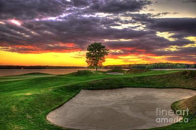 Photograph - Sand Flies Golf The Landing Lake Oconee Art by Reid Callaway