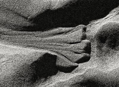 Photograph - Sand Form by Robert Woodward