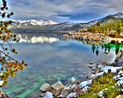 Photograph - Sand Harbor Beauty by William Havle