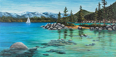 Painting - Sand Harbor by Darice Machel McGuire