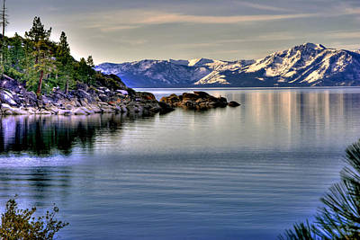 Photograph - Sand Harbor Mountain View by William Havle