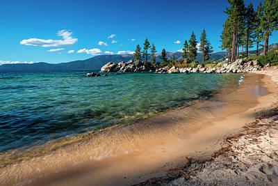 Sand Harbor Photograph - Sand Harbor State Park, Lake Tahoe by Russ Bishop