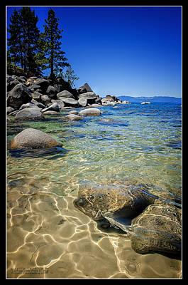 Photograph - Sand Harobr Lake Tahoe Fresh Water  by LeeAnn McLaneGoetz McLaneGoetzStudioLLCcom
