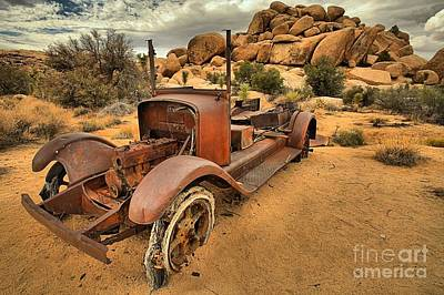 Mining Truck Photograph - Sand In The Tires by Adam Jewell