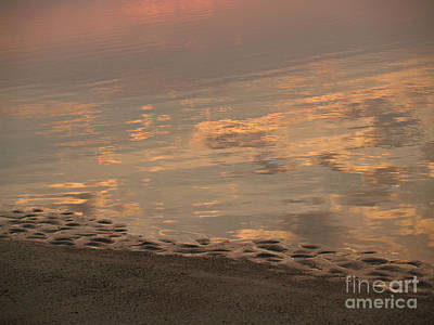 Photograph - Sand Meets Clouds And Sea - Hunting Island - South Carolina by Anna Lisa Yoder