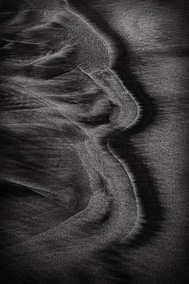 Photograph - Sand Patterns 2 by Robert Woodward
