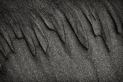 Photograph - Sand Patterns 3 by Robert Woodward