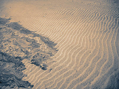 Photograph - Sand Patterns by Alana Boltwood