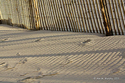 Photograph - Sand Patterns by Ann Murphy