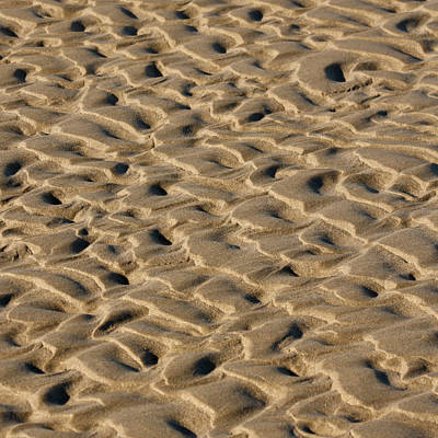 Sand Patterns Art Print by Art Block Collections