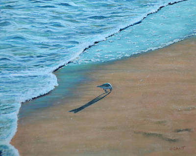 Painting - Sand Piper by Joanne Grant