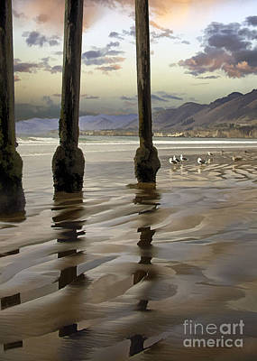 Digital Art - Sand Ripples by Sharon Foster