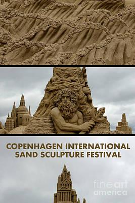 Photograph - Sand Sculpture Festival by Sophie Vigneault