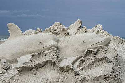 Photograph - Sand Sculture  by Dorothy Cunningham