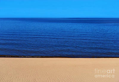 Sand Sea And Sky Art Print