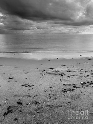 Noirmoutier Photograph - Sand Sea Sky by David Hanlon