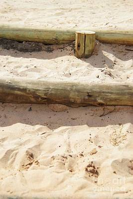 Sand Steps Art Print by Stephanie Guinn