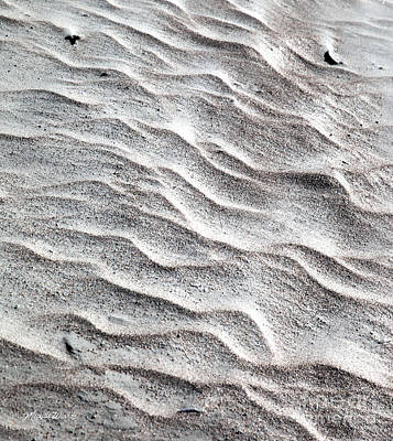Photograph - Sand Swirl by Michelle Wiarda-Constantine