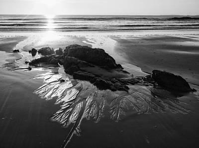 Sand Traces Art Print
