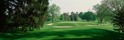 Baltimore Photograph - Sand Trap At A Golf Course, Baltimore by Panoramic Images